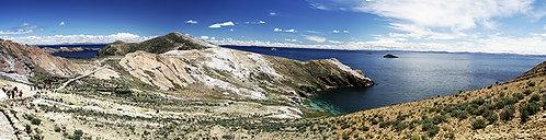 A Ilha do Sol, no Lago Titicaca, é um lugar sagrado pra cultura Inca.