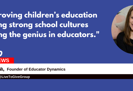 """Fostering strong school cultures and igniting the genius in educators.""-Passion Forward Ep. 3"