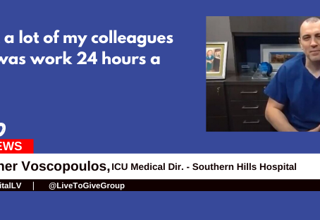 """I did what a lot of my colleagues did which was work 24 hours a day.""  -Heroes for Nevada Ep. 2"