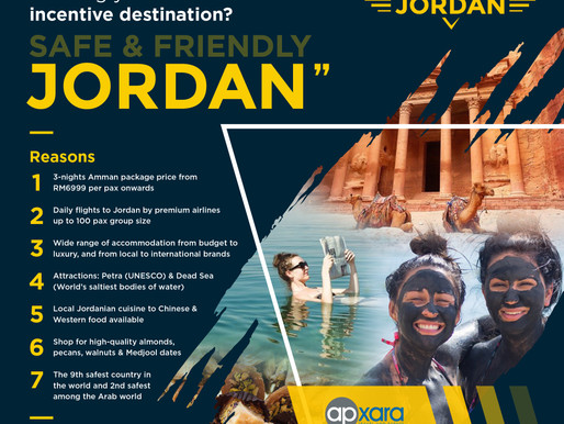 DISCOVER JORDAN - Your Next Incentive Destination