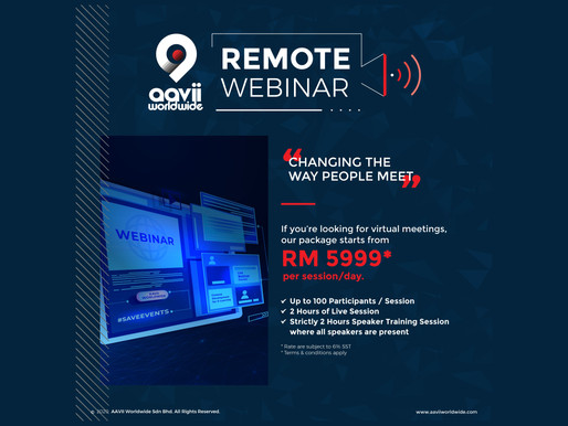 Remote Webinar, Changing The Way People Meet