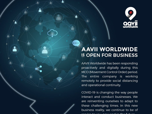 AAVII WORLDWIDE IS STILL OPEN FOR BUSINESS