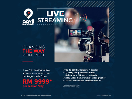Live Streaming, Giving Events A New Life in Malaysia
