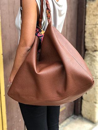 Maxi Shopping Bag Pelle