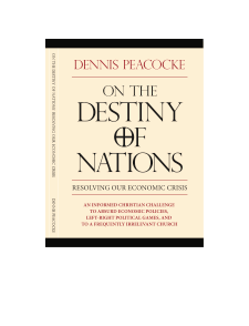 On The Destiny Of Nations [WV02]