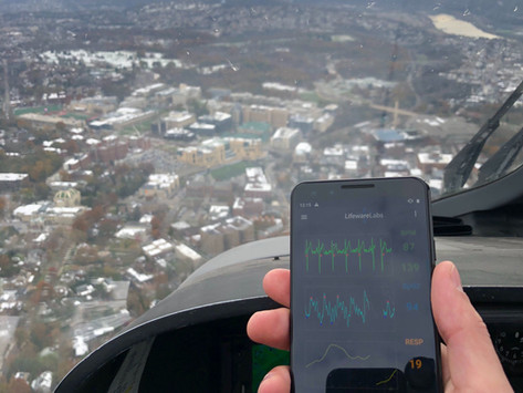 Lifeware Devices Evaluated for MedEVAC