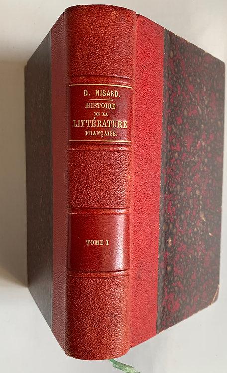 Histoire de la littérature française.D. Nisard