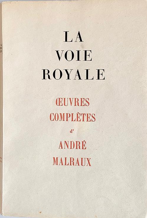 La voie royale.André Malraux
