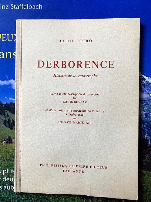 Derborence , histoire de la catastrophe