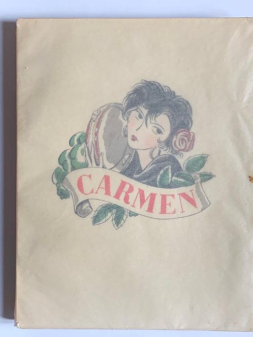 Carmen:Prosper Merimee -2000 ex.numerotes