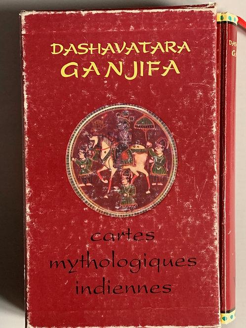Dashavatara Ganjifa.Cartes mythologiques indiennes.Rudolf von Leyden