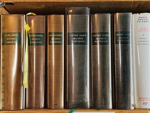 La Pléiade, divers volumes