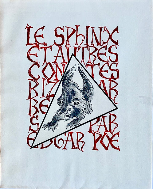 Le Sphinx et autres contes bizarres. Edgar Poe