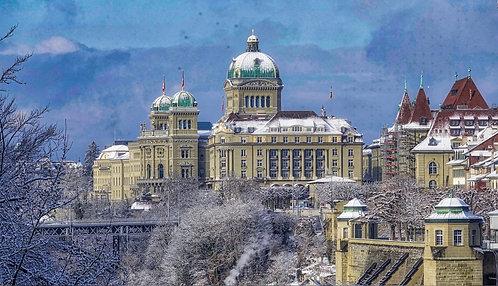 Le Palais fédéral-Berne