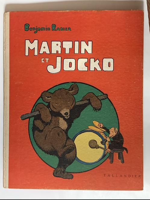 Martin et Jocko ;Benjamin Rabier