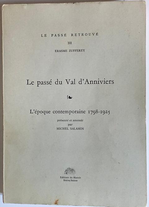 Le passé du Val d'Anniviers