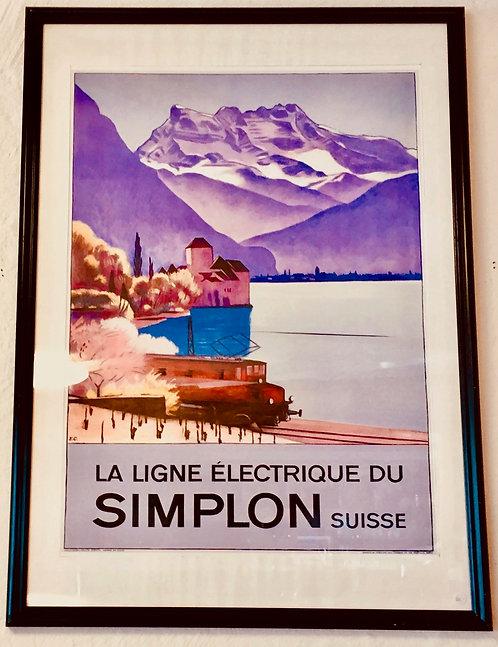 La ligne électrique duSimplon