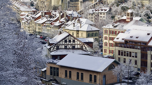 Berne en hiver