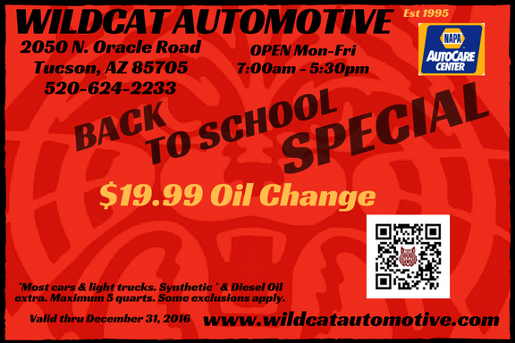 Autp Repair Coupon Tucson