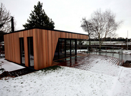 5 of the best cladding choices for garden rooms