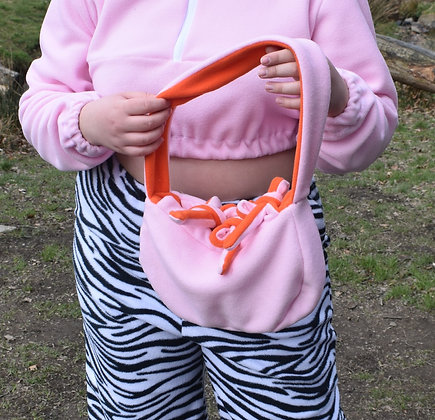 Reversible Fleece Handbag