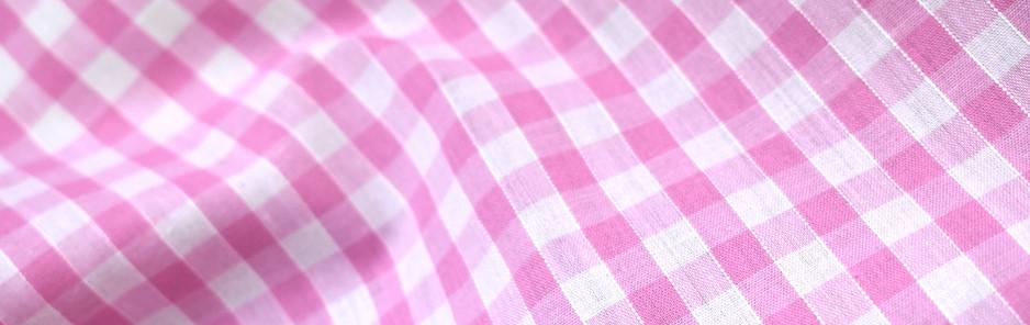 "1/4"" Light Pink Gingham"