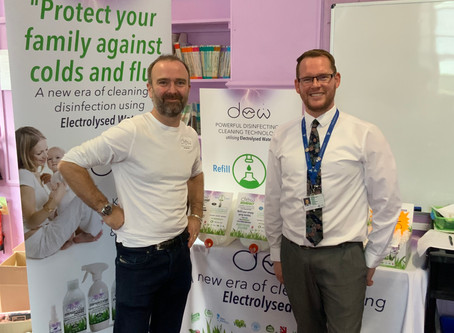 Tealing School's Eco Council Unanimously Voted To Set Up DEW Refill Station