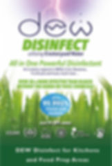 DEW Disinfect for Kitchens and Food Prep