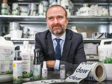 Dundee Cleaning Products Firm Plans To Be 100 Times Current Size By 2025