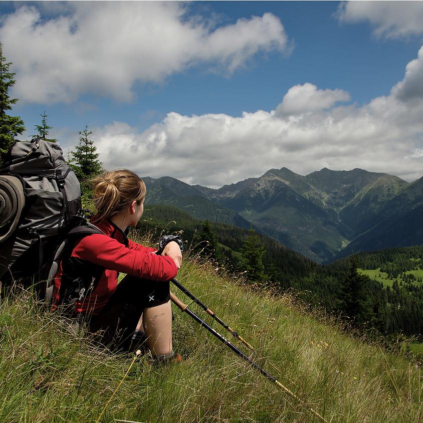 モンチュラ登山教室「歩行技術と三点支持」