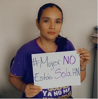 Bessy Martinez Red de mujeres de Jutiapa