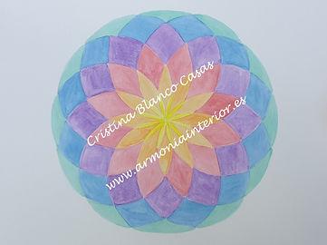 Geometria flor colores, geometria sagrada