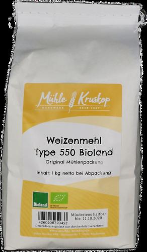 Bioland Weizenmehl 550