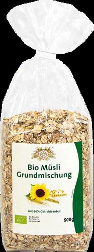 Bio Müsli-Grundmischung