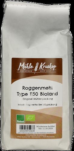 Bioland Roggenmehl 1150