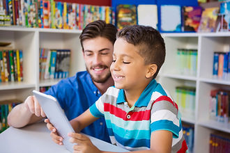 JBA Institute provides clients with one-to-one services at school.
