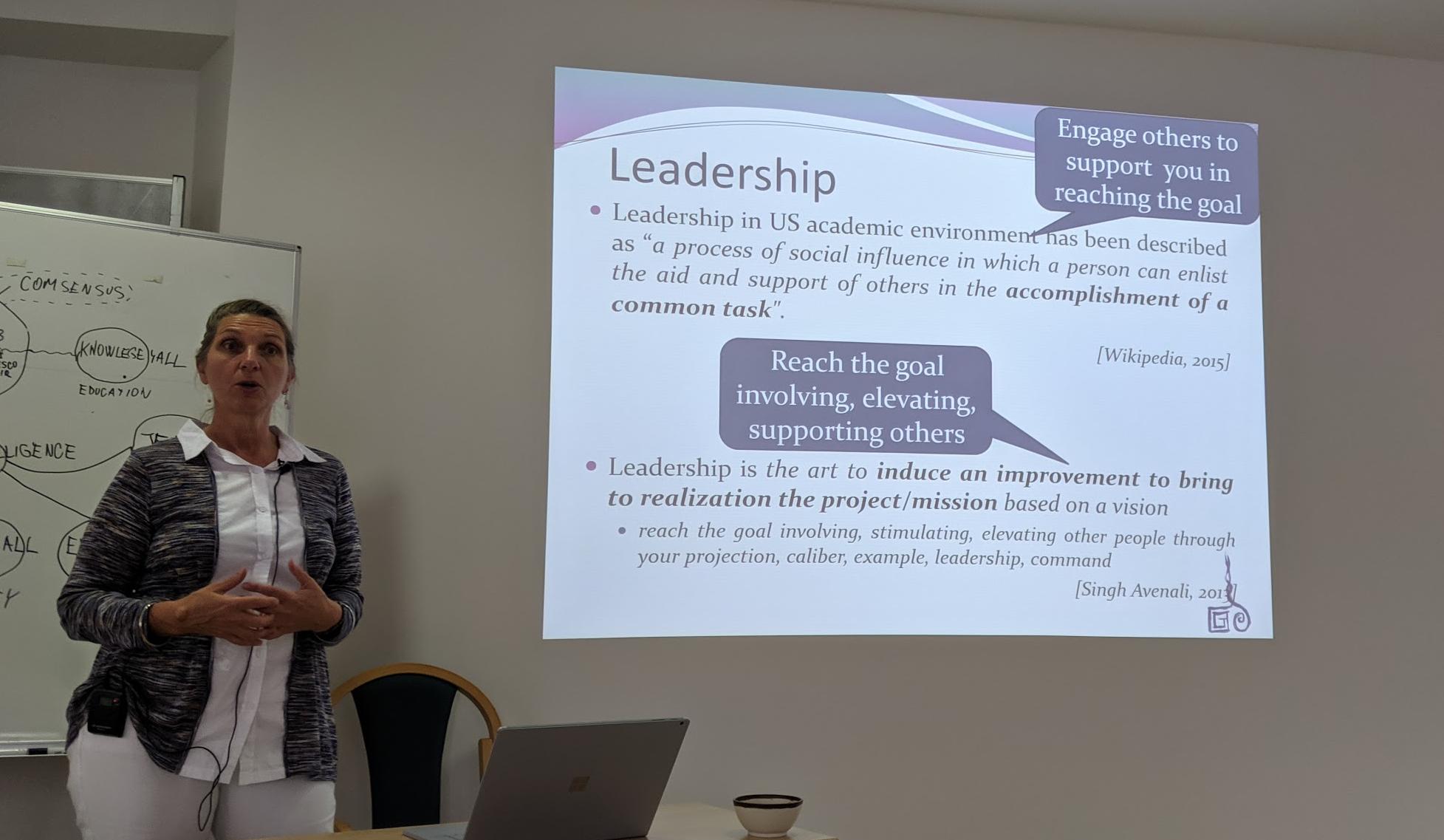 Leadership in Science