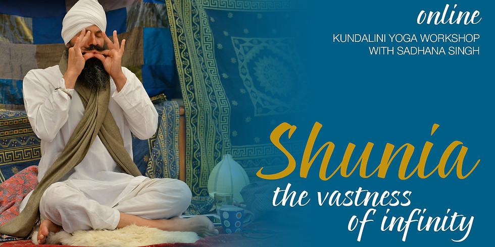 Shunia - the vastness of infinity