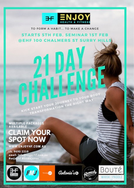 21 DAY CHALLENGE- DON'T MISS OUT!