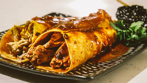 Turkey Enchiladas Colorado