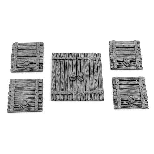 Wooden Trapdoors
