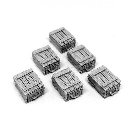Merchant cargo: boxes