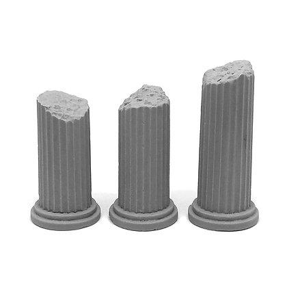 Разрушенные колонны