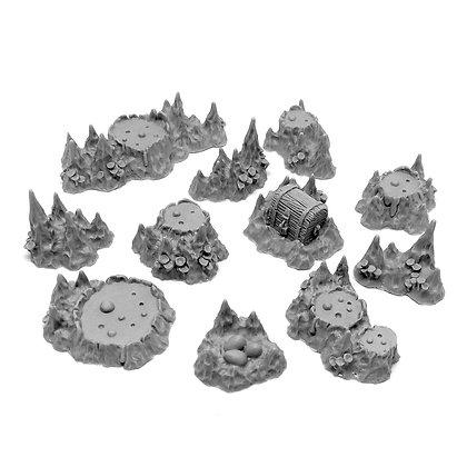 Mud Cave set
