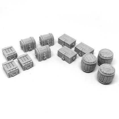 Merchant cargo set