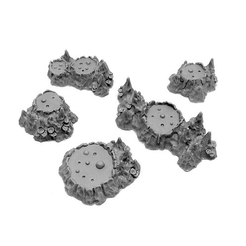 Mud Volcanoes set