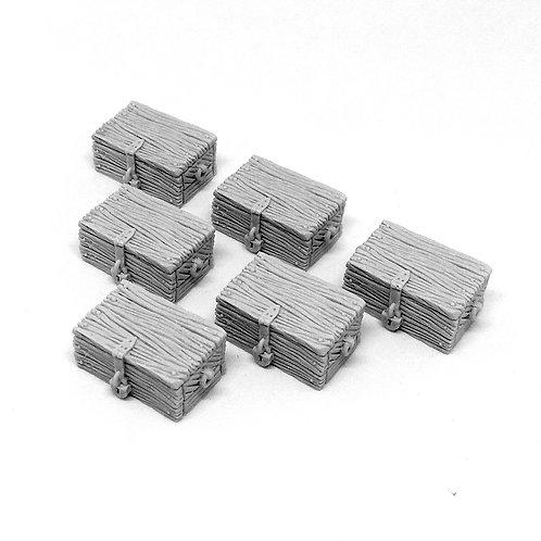 Merchant cargo: crates