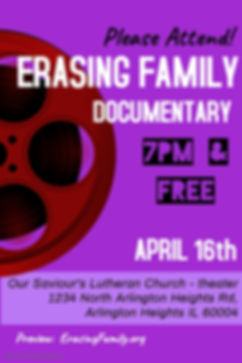 Erasing Family Documentary - Made with P