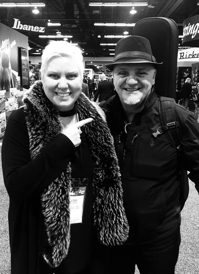 Frank Gambale @ Winter NAMM 2020