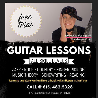Copy of Guitar Lessons - Made with Poste